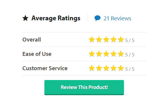 PT Distinction capterra.com rating