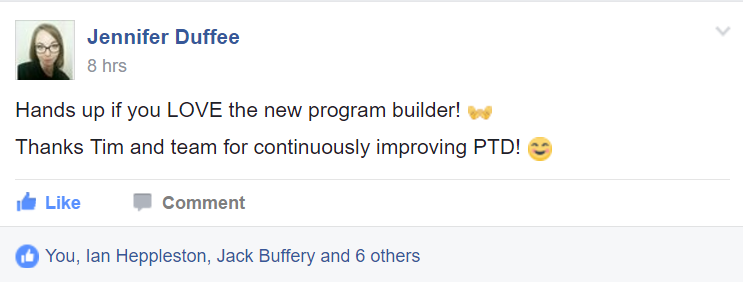 PT Distinction online personal training software testimonial review 39