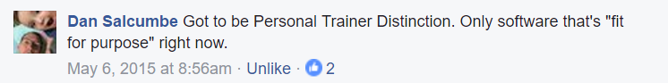 PT Distinction online personal training software testimonial review 14